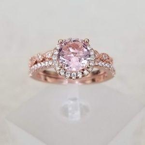 Jewelry - PInk Rose Gold Ring Set